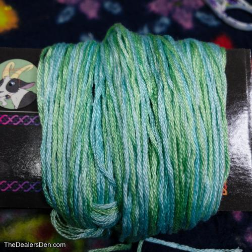 Pale Green Hand Dyed Embroidery Floss for Fursuits and Fiber Crafts (#03)