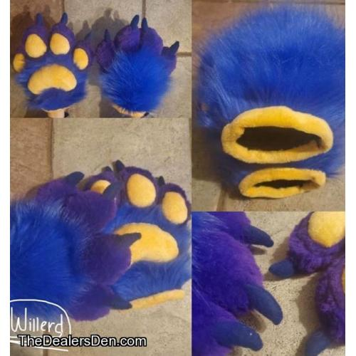 Fursuit puffy handpaw commisions open!