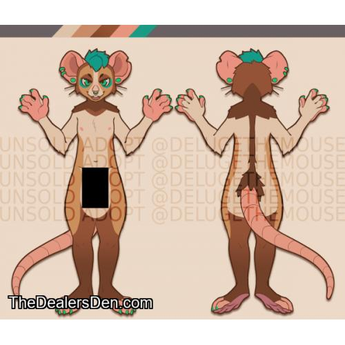 Mouse Adoptable - Designed by Fishb0nes!