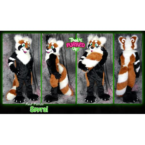Spyral Red Panda Fursuit