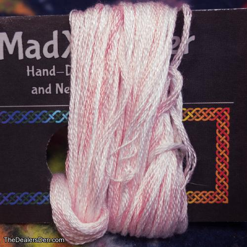 Pale Pink Hand Dyed Embroidery Floss for Fursuits and Fiber Crafts (#23)