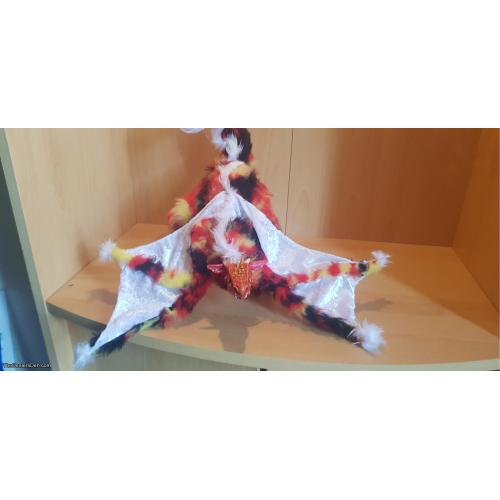 Fire Wyvern Art Doll