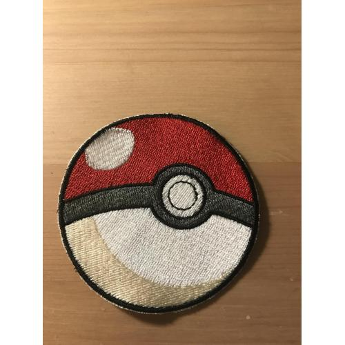 Embroidered Poke Ball