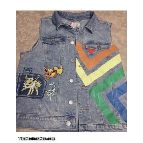 Eeveelutions Pride Denim Vest
