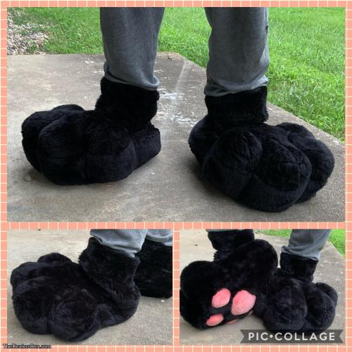 Black Sock Paws