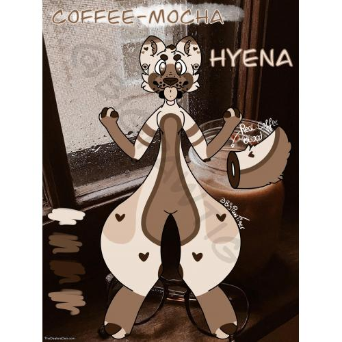 Coffee Hyena adopt furry Fursona Fursuit