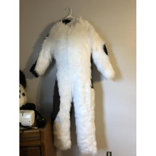 Fixer upper collie head and body suit
