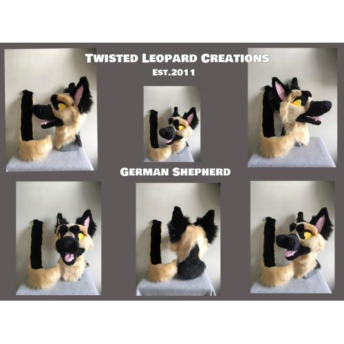 NEW German Shepherd Dog Partial Fursuit *LOWERED PRICE*