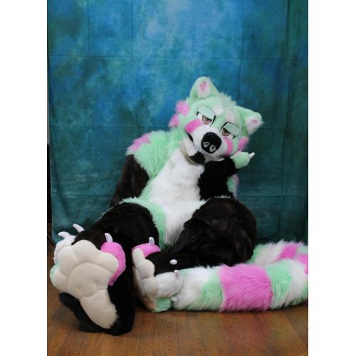 New Red Panda Padded Fursuit