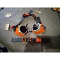 Fursuit costume goggles