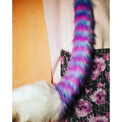 Cotton Candy Lion Tail