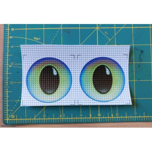 Cosmic (2½ inch) - New style printed eyes