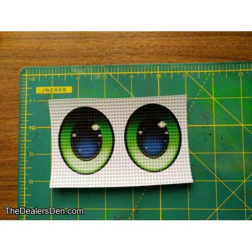 Oval Green (s) - Ver.3 Printed eyes