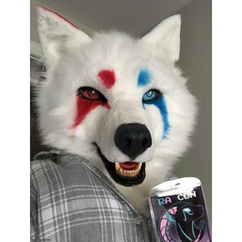 Realistic White Canine Partial