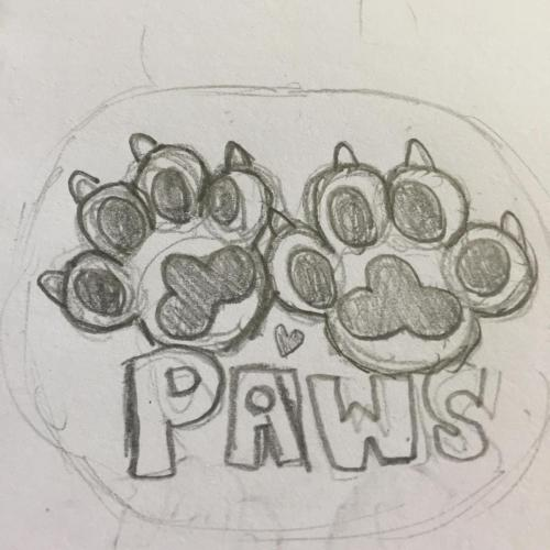 paws vs maws stickers