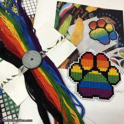 Pride Paw Kit | Magnet or Pin