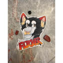 Traditional Furry Badge