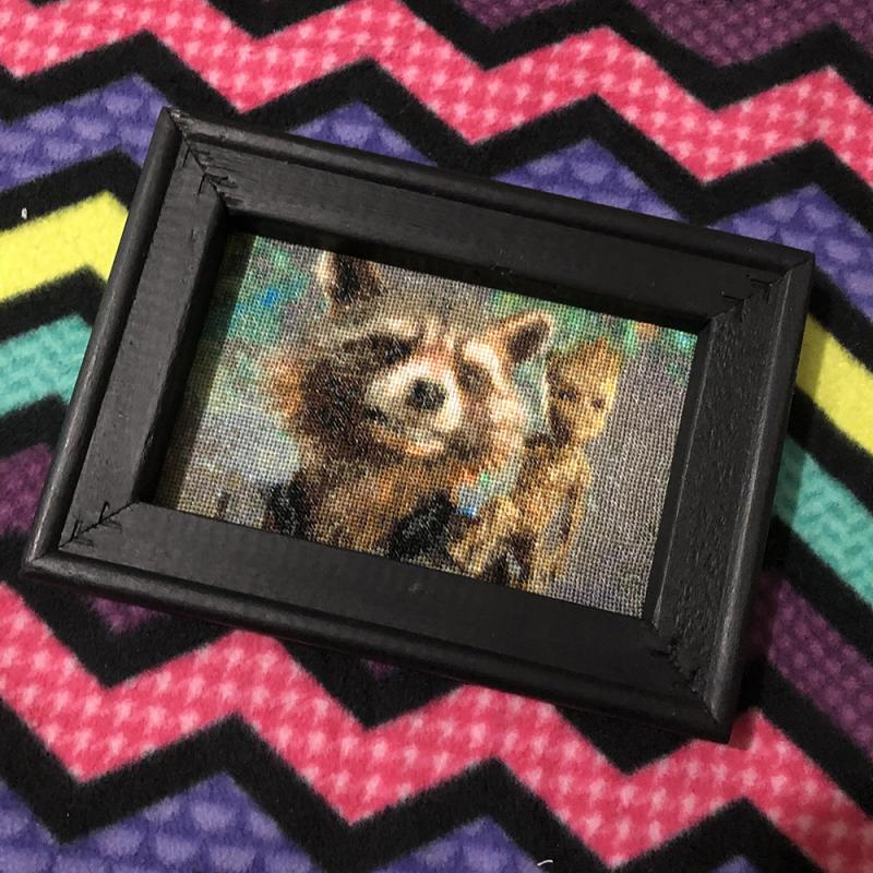 Rocket Raccoon and Baby Groot Mini Tapestry