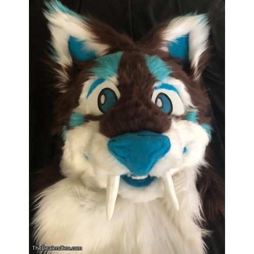 Sabertooth Lynx Head