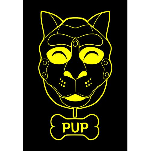 Ultra-Soft Pup Mask T-Shirt