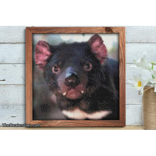 Tasmanian Devil Cross Stitch Pattern