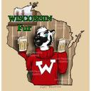 WISCONSIN Fur State Badge- Furry Fandom Convention Badges