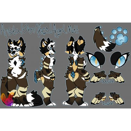 Fursuit Refrence Sheet