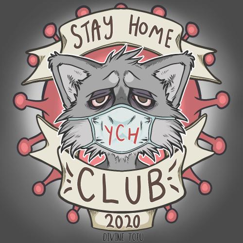 Stay Home Club 2020 YCH