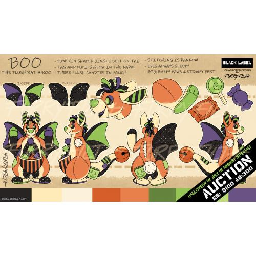 Adopt Boo The Plush Bat-A-Roo1