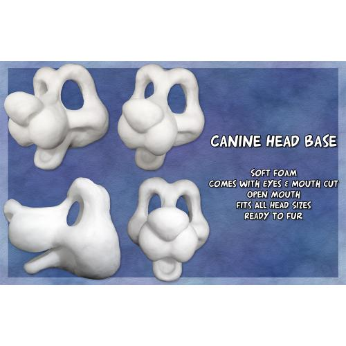 Foam Canine Head Bases