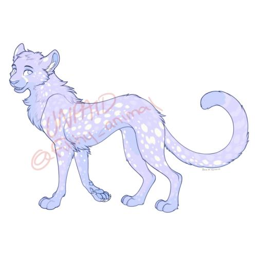 Cheetah Adoptable #13
