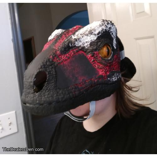 King Dino Mask w/ Moving Jaw and Eyes, Plus Sound Effects!