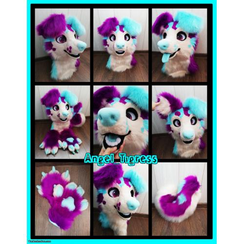 Mint Ice Cream DOG ! NEW ! made by Angel tigress!