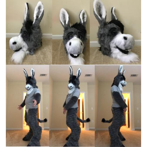 3/4 Donkey partial