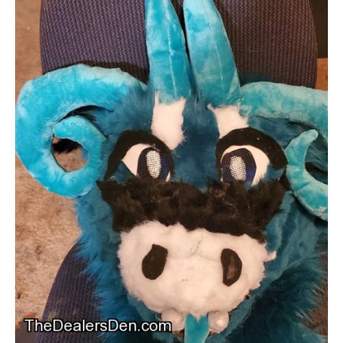Custom Fursuit Head Commission
