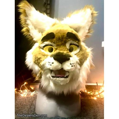 Wildcat Fursuit Head