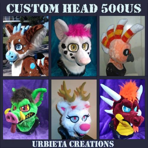 Fursuit Head Commissions