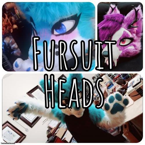 READ DESC* Custom Fursuit Heads!