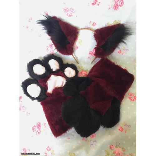 Fursuit Paws W/ Matching Ears