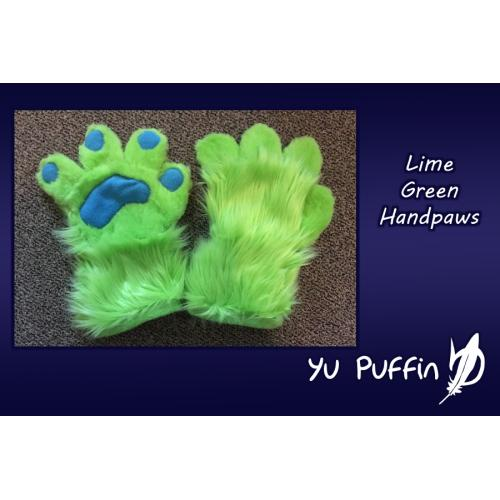 Lime Green Handpaws