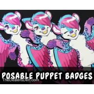 Custom/YCH Movable Puppet Badge Commission