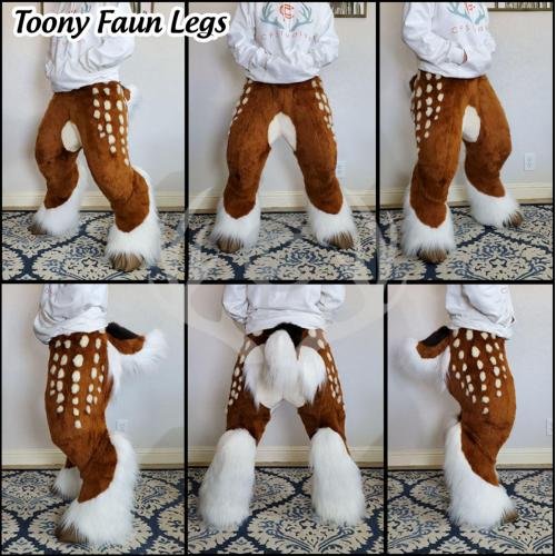 Toony Faun Fursuit Deer Legs