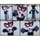 New Cherry & Blue Raspberry Wolf Partial